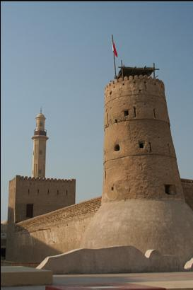 Old fort in Dubai (now museum)